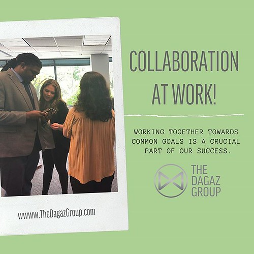 Working together to help our team reach both company and individual goals. 🎯 #thedagazgroup