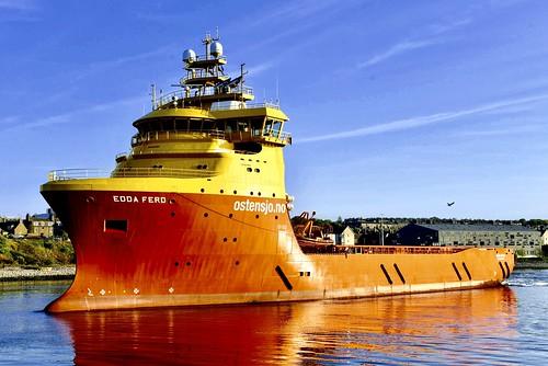 Edda Ferd - Aberdeen Harbour Scotland - 14th May 2019