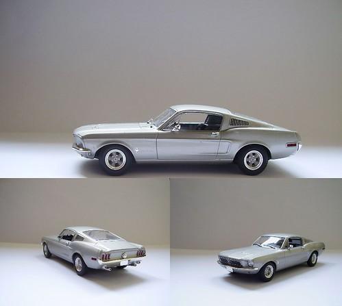 Ford Mustang 2+2 Fastback [Minichamps (Paul´s Model Art) #403082023 Auto Bild Edition] CN 2005