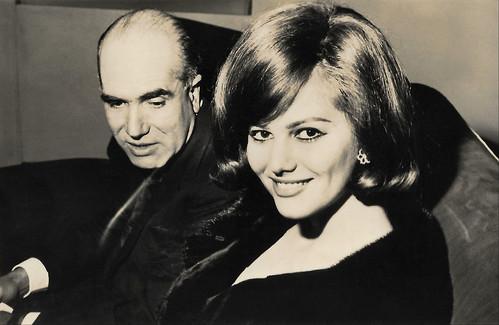 Claudia Cardinale and Luigi Comencini at Festival Karlovy Vary