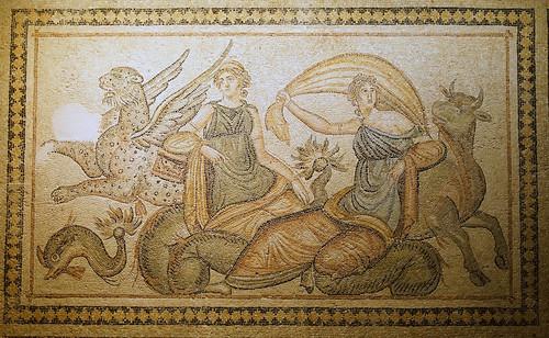 europa'nın kaçırılışı mozaiği / mosaic of abduction of europa