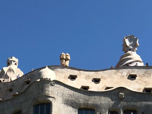 """Barcelona, Casa Milà / """"La Pedrera"""" (1906-1912)"""