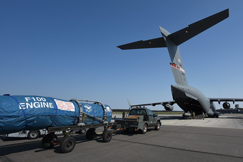 Cargo loading for SCANG's return home from supporting ACE 19