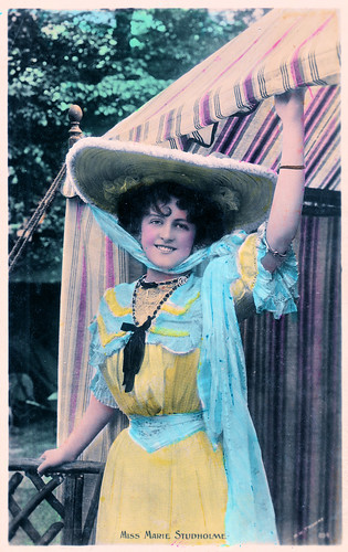 Miss Marie Studholme Prior to 1904. And a Notorious Bawdy House.