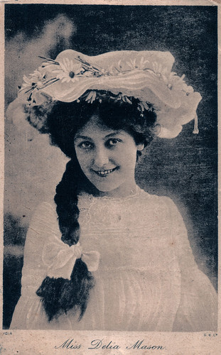 Miss Delia Mason Prior to 1908. And the Sinking of the S.S. Minnewaska.