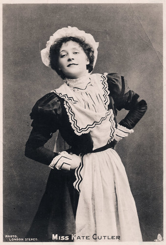 Miss Kate Cutler Prior to 1906