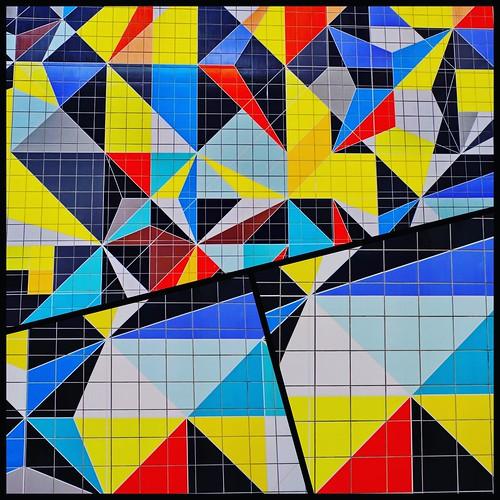 Mosaik Sarah Morris Düsseldorf