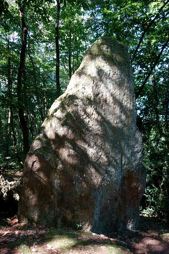 Le menhir de la « Roche-Piquée » près de la Gacilly - Morbihan - Septembre 2018 - 05