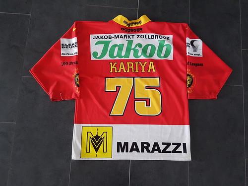 Martin Kariya, SCL Tigers, fanjersey