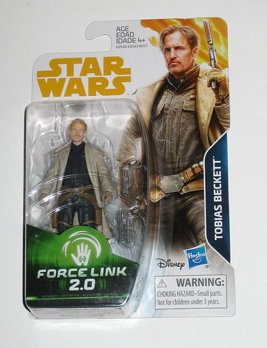 tobias beckett star wars solo a star wars story force link 2.0 basic action figures 2018 hasbro mosc a