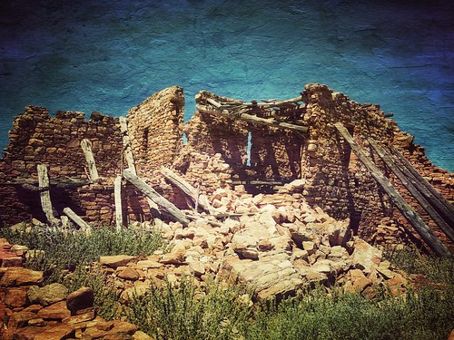 Kinishba Ruins is a 600-room Mogollon great house archaeological site in eastern Arizona and is administered by the White Mountain Apache Tribe. It is located on the present-day Fort Apache Indian Reservation, in the Apache community of Canyon Day.