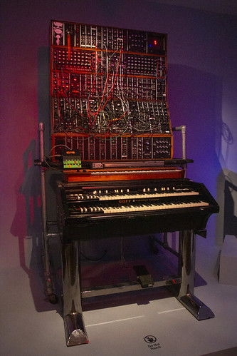 Keith Emerson's Moog Synthesizer
