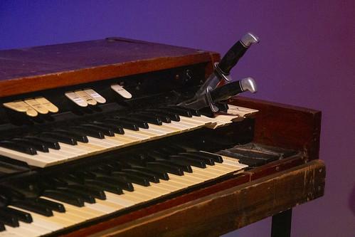 Keith Emerson's Trick Hammond Organ