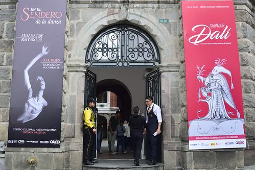 Grabados de Salvador Dalí en MET Quito