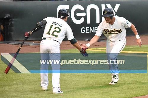 MVF_0192 [Temporada Primavera 2019] Juego 2 | Pericos de Puebla vs Bravos de León | Liga Mexicana de Béisbol | Fotografías @MaraGlez_BTR / @Mv_ManuelVela para Mv Fotografía Profesional / Edición y retoque www.pueblaexpres.com