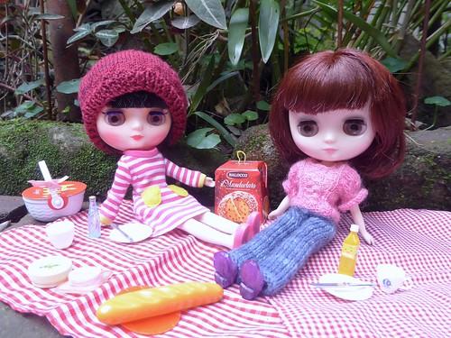 BaD June 8&9 - Best Friends having a Picnic