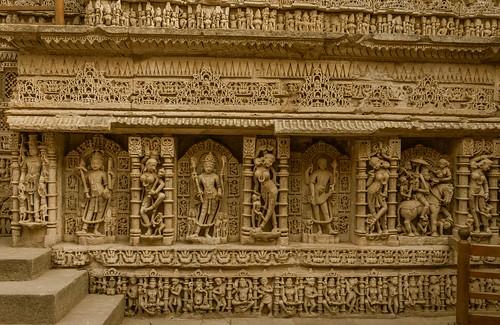 Queen's Stepwell aka Rani-ki-Vav at Patan, Gujarat