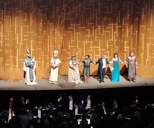 NYC- Metropolitan Opera House Aida Cast