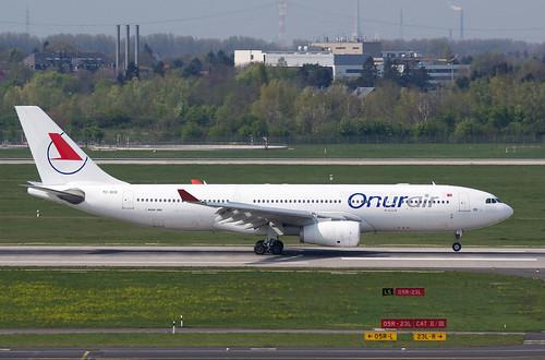 A330 TC-OCG Onur Air bs white