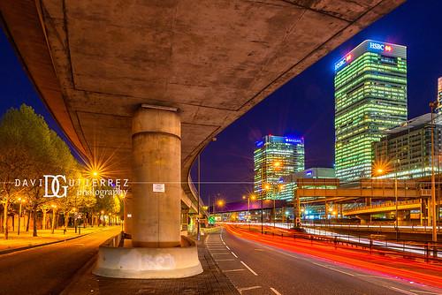 Traffic - Poplar, London, UK