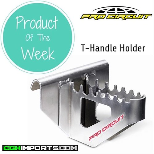 • P R O D U C T • O F • T H E • W E E K • Pro Circuit T-Handle Holder Made from lightweight aluminum and designed to hang from your toolbox for quick and easy access to your complete set of t-handle tools. RRP - £34.99 📲 http://bit.ly/2X7vU3r ☎️ 0