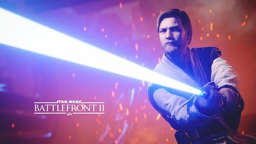 Battlefront II: Obi-Wan Kenobi Poster