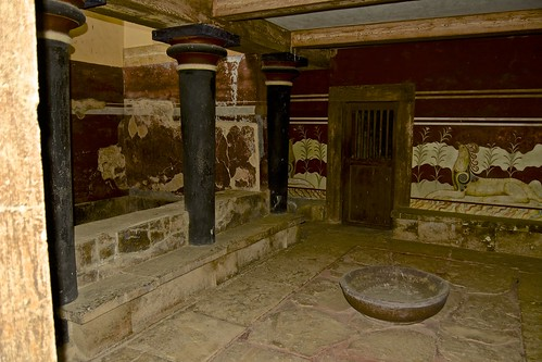Ancient Palace of Knossos, Crete,