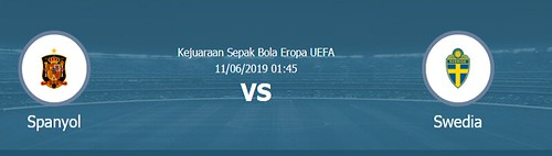 Live Streaming Spanyol vs Swedia, Kualifikasi Euro 2020 Via Super Soccer TV