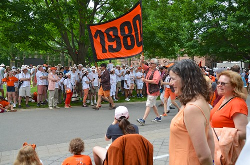 Class Of '80 In The P-Rade