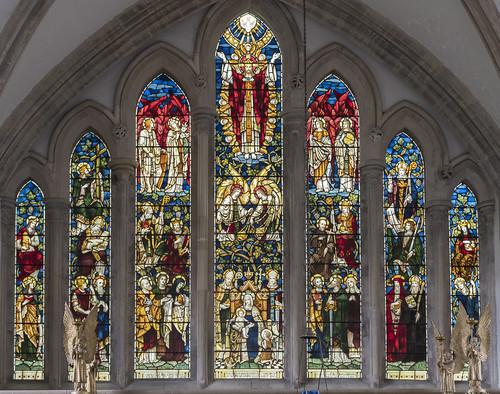 Blakeney, St Nicholas church east window