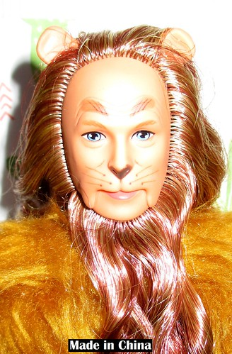 1996 Hollywood Legends Collection The Wizard of Oz Ken as the Cowardly Lion