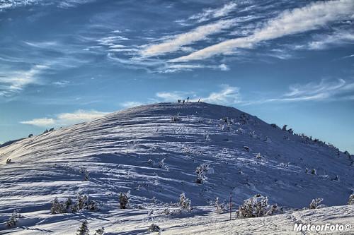 Mała Babia Góra w bieli