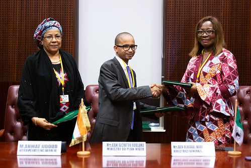 Malabo AfDB Annual Meetings Day 1 - Signing Agreement for the
