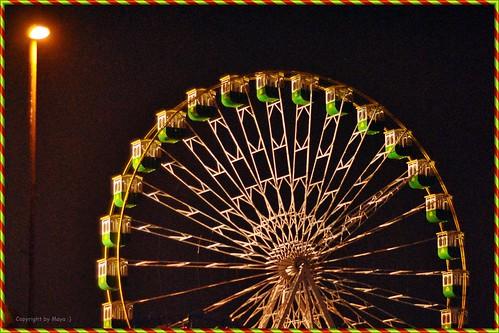 Riesenrad * Ferris wheel * La noria *  . DSC_9681-1