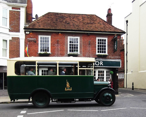 1931 Dennis 30cwt Bus in the Broadway, Winchester