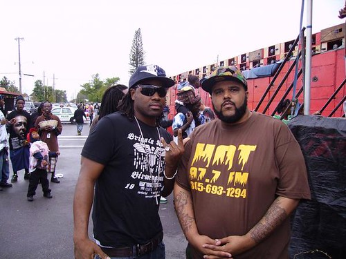 Bizzle & GMONEY @ Martin luther king Festival 08