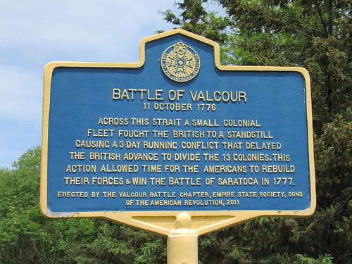 Battle Of Valcour Island, June 2019