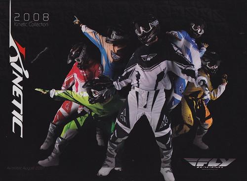 2008 Fly Racing Kenetic Gear Ad