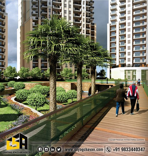 An-eminent-view-from-ATS-Tourmaline-architecture-firms-in-india