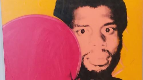 Kareem Abdul-Jabbar by Warhol. 1977