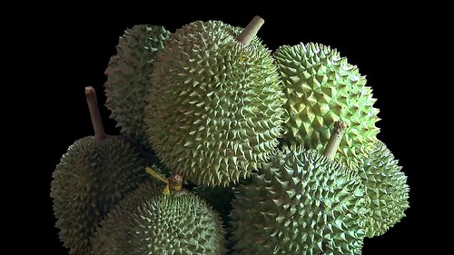 Vietnam - Saigon - City Market - Durian - 1d
