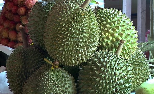 Vietnam - Saigon - City Market - Durian