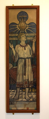 Speak Lord, thy servant heareth (cartoon, Margaret Agnes Rope)