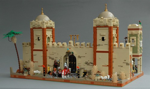 Protecting the city of Mophet - the outer walls
