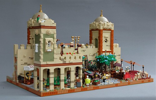 Protecting the city of Mophet - inside the walls
