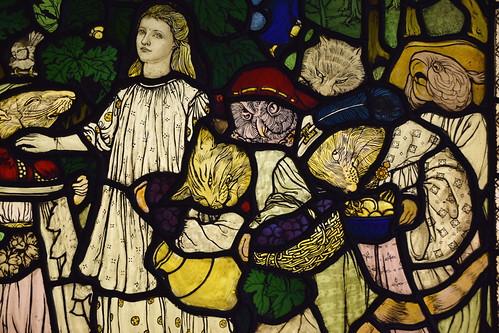 Goblin Market (detail, Margaret Agnes Rope, c1908)