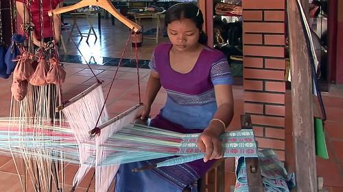 Vietnam - Saigon - Weaving - 1