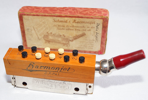 Schmid's Harmonjet with Chr. A. Essbach tremolo harmonica
