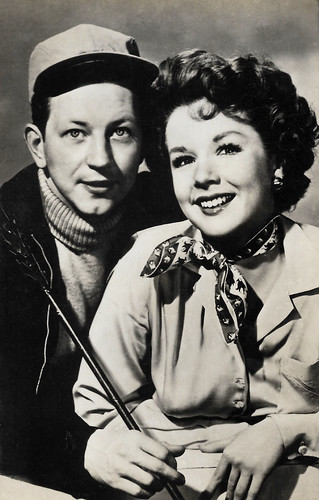 Donald O'Connor and Piper Laurie in Francis Goes to the Races (1951)