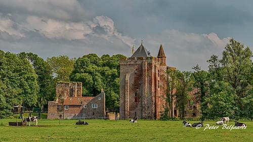 The Ruins of Brederode (Dutch: Ruïne van Brederode), Santpoort-Zuid Netherlands